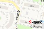 Схема проезда до компании Киоск молочной и колбасной продукции в Пирогово