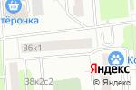 Схема проезда до компании IdeaWeb в Москве