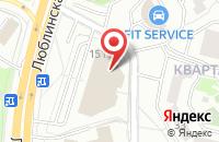 Схема проезда до компании Первый настоящий дискаунтер в Москве