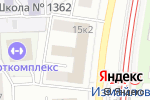 Схема проезда до компании Профлайн в Москве