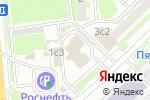 Схема проезда до компании Национальный Шинный Альянс в Москве