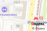 Схема проезда до компании Интехгаз в Москве