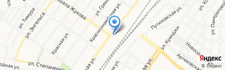 АртСтоун на карте Донецка