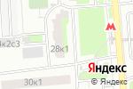 Схема проезда до компании Ателье на ул. Мусы Джалиля в Москве