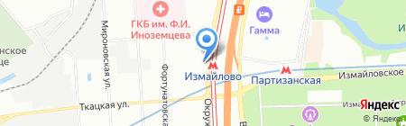 Международный экспедитор на карте Москвы