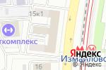 Схема проезда до компании СмартКон в Москве