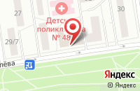 Схема проезда до компании Руспроектстройсервис в Москве
