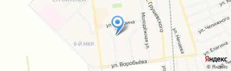 ЖЭУ №3 г. Авдеевки на карте Авдеевки