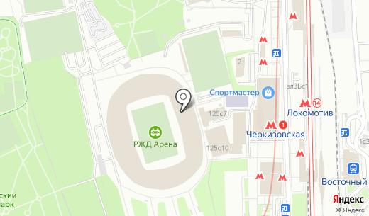 Зебра. Схема проезда в Москве
