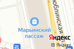 Схема проезда до компании Магазин сумоки кожгалантереи в Москве