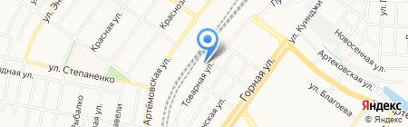 Оконный дом на карте Донецка