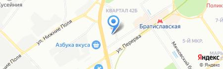 Банкомат Альфа-Банк на карте Москвы