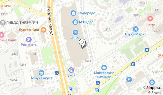 Банкомат Альфа-Банк. Схема проезда в Москве