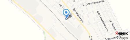 Авдеевское профессионально-техническое училище на карте Авдеевки