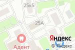Схема проезда до компании Соколиная Гора в Москве