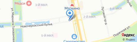 Fitenergy на карте Москвы