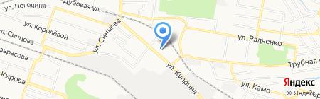 MSM Door на карте Донецка