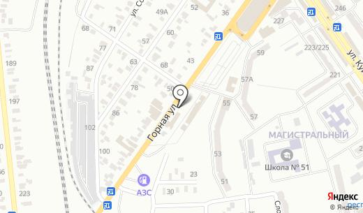 КЛАССНЫЕ АВТОШИНЫ. Схема проезда в Донецке