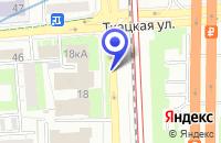 Схема проезда до компании ТФ HIFI-TRADE в Москве