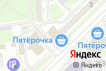 Схема проезда до компании Бакинские ночи в Москве