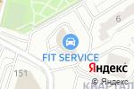 Схема проезда до компании SnowParts в Москве