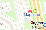 Схема проезда до компании МосСберФонд в Москве