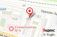 Схема проезда до компании Руанд в Москве