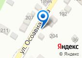 Уральский мрамор на карте