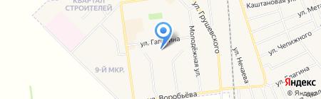 Детский сад №8 на карте Авдеевки