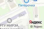 Схема проезда до компании Баланс в Москве
