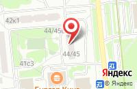 Схема проезда до компании Спецстройинвест в Москве