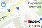 Схема проезда до компании Лили в Москве