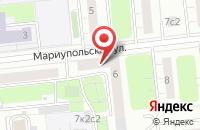 Схема проезда до компании Форском в Москве