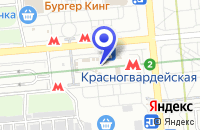 Схема проезда до компании КОМПЬЮТЕРНЫЙ САЛОН SUNRISE в Москве