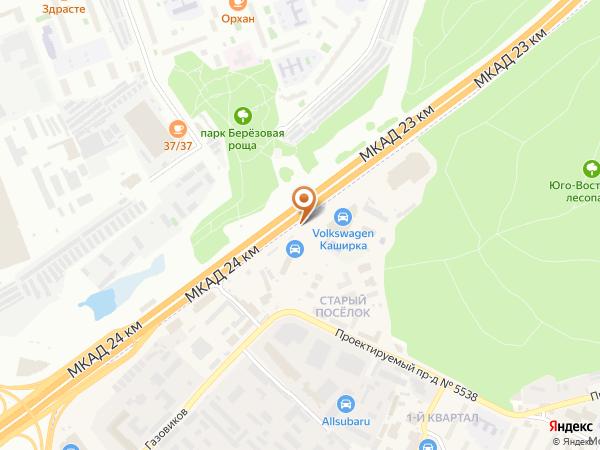 Остановка «23-й км.», 23-й километр Московской Кольцевой Автодороги (7809) (Москва)