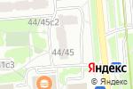 Схема проезда до компании Зяблик в Москве