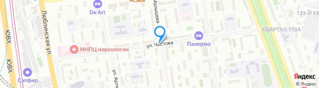 улица Чистова