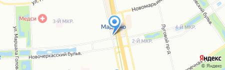 Магазин косметики и парфюмерии на карте Москвы