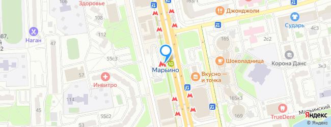метро Марьино