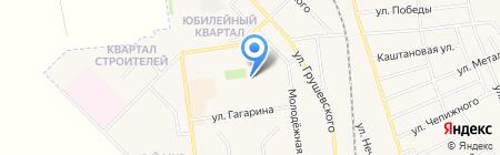 Авдеевская общеобразовательная школа I-III ступеней №6 на карте Авдеевки