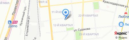 РусСнабЖение на карте Москвы
