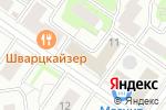 Схема проезда до компании Клевер-С в Москве