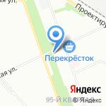 Волжская на карте Москвы