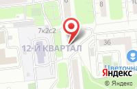 Схема проезда до компании Магес в Москве