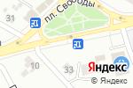 Схема проезда до компании Хлебные дары в Донецке