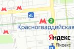 Схема проезда до компании Магазин шуб на Ореховом бульваре в Москве