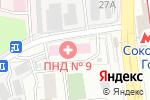 Схема проезда до компании Психиатрическая больница №3 им. В.А. Гиляровского в Москве