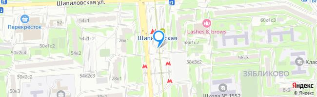 метро Шипиловская