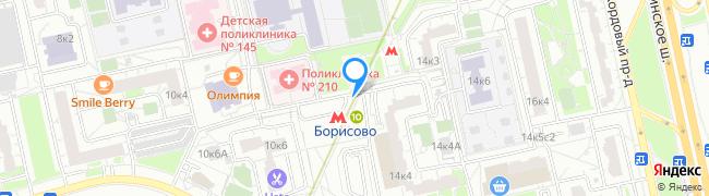 метро Борисово