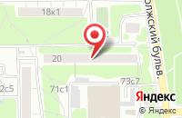 Схема проезда до компании Региональное Консалтинговое Агентство в Москве